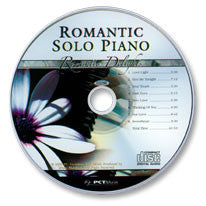 Romantic Solo Piano Audio CD