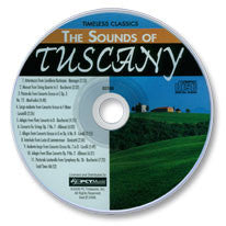The Sounds of Tuscany Audio CD