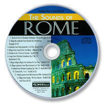 The Sounds of Rome Audio CD