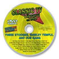 Three Stooges, Shirley Temple, and Our Gang DVD