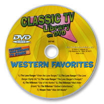 Classic TV Western Favorites DVD
