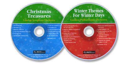 2 Audio CD Set (Christmas Treasures / Winter Themes for Winter Days)