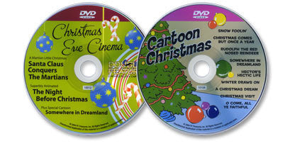 2 DVD Set (Cartoon Christmas / Christmas Eve Cinema)