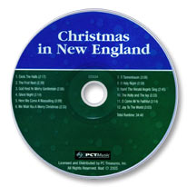 Christmas in New England (Audio CD)