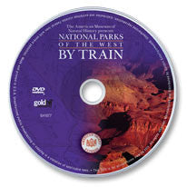 National Parks of the West by Train DVD