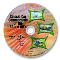Classic Car Commercials of the 50s and 60s DVD