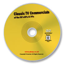 Classic TV Commercials of the 50s, 60s, and 70s DVD
