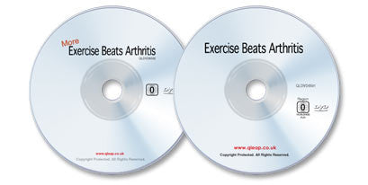 2 DVD Arthritis Treatment Set (Exercise Beats Arthritis /More Exercise Beats Arthritis)