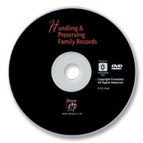Handling and Preserving Family Records DVD