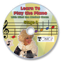 Learn to Play the Piano Stage 3 DVD