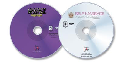 2 DVD Massage set (Massage: A Beginner's Guide /Self-Massage: A Beginner's Guide)