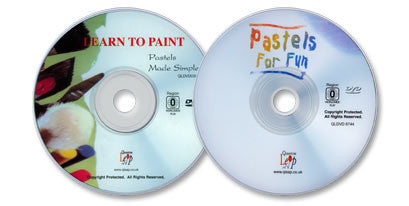 (2 DVD Set) Pastels for Fun / Pastels Made Simple