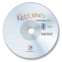 Watercolors Intermediate Class DVD