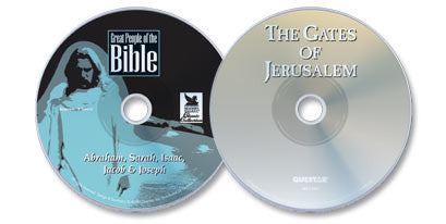 2 DVD Set (The Gates of Jerusalem /Great People of the Bible: Abraham, Sarah, Isaac, Jacob & Joseph)
