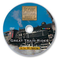 Great Train Rides: Scenic National Parks DVD