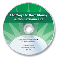 140 Ways to Save Money & the Environment (Audio CD)