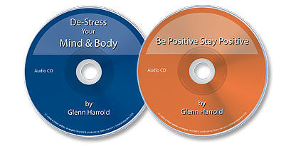 2 Audio CD Set (De-Stress Your Mind /Be Positive, Stay Positive)