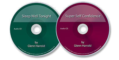 2 Audio CD Set (Sleep Well Tonight /Super Self Confidence)