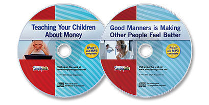 2 Audio CD Set (Teaching Your Children About Money /Good Manners)