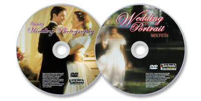 2 DVD Wedding Photography set