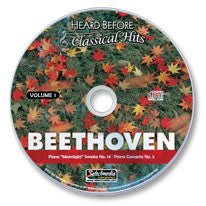 Beethoven Vol. I Audio CD