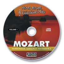 Mozart Vol. I Audio CD