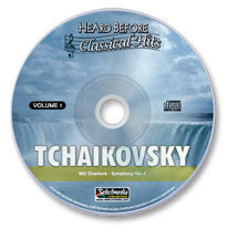 Tchaikovsky Vol. I Audio CD