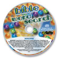 Bible Word Search CD-ROM
