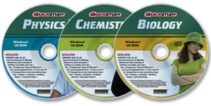 3 CD-ROM Science Advantage set