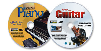 2 DVD set (Easy Piano / Easy Guitar)