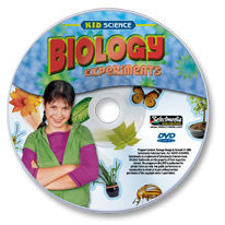 Kid Science: Biology Experiments DVD