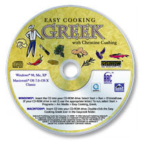 Easy Cooking Greek CD-ROM
