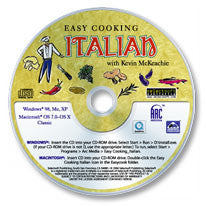 Easy Cooking Italian CD-ROM