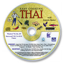 Easy Cooking Thai CD-ROM