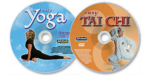 (2 DVD Set) Easy Tai Chi /Easy Yoga