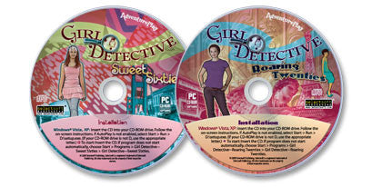 2 Girl Detective CD-ROM Set (Roaring Twenties /Sweet Sixties)