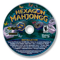 Hexagon Mahjongg CD-ROM