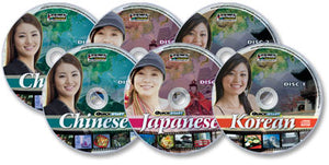 Quickstart Chinese, Korean, & Japanese (6 Audio CD Set)