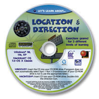 Let's Learn About Location & Direction CD-ROM