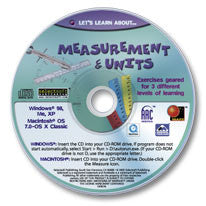 Let's Learn About Measurements & Units CD-ROM