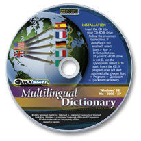 Multilingual Dictionary CD-ROM