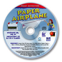 Paper Airplane CD-ROM