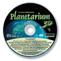 Planetarium 3D CD-ROM Screensaver