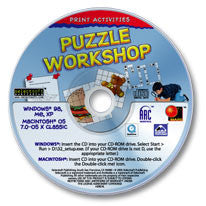 Print Activities Puzzle Workshop CD-ROM