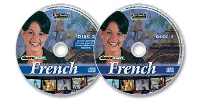 2 Audio-CD set: Quickstart French