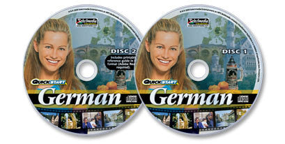 2 Audio-CD set: Quickstart German