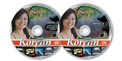 Quickstart Korean (2 Audio CD Set)
