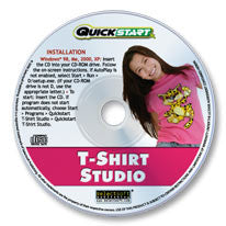 Quickstart T-Shirt Studio CD-ROM