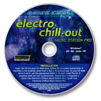 Electro Chill-out Music Station Pro CD-ROM
