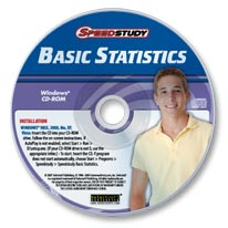 Speedstudy Basic Statistics CD-ROM